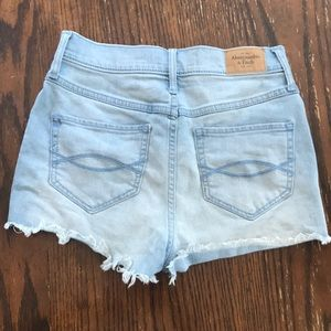 Abercrombie and Fitch Denim Shorts Size 0